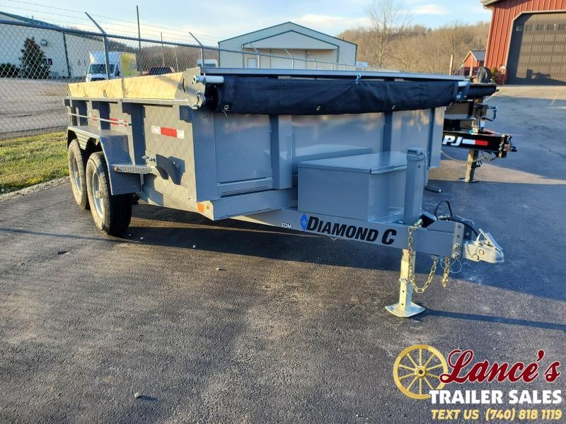 2020 Diamond C 12' Dump Trailer