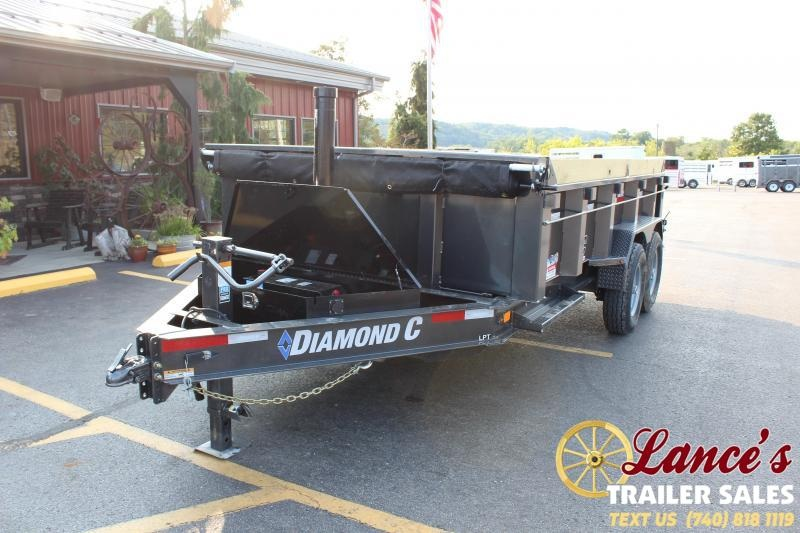 2021 Diamond C 14' TELESCOPIC Dump Trailer