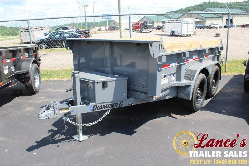 "2021 Diamond C 60""x10' Dump Trailer"