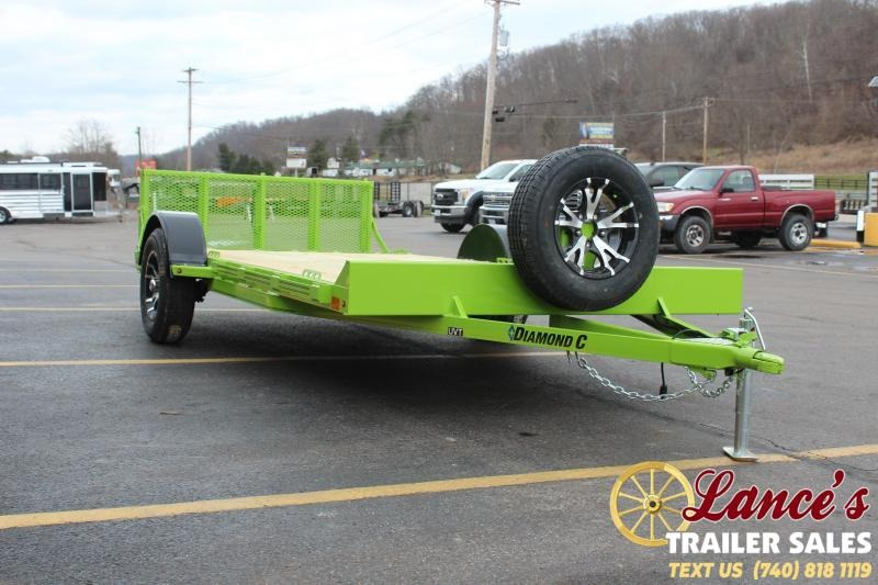 2021 Diamond C 14' Deluxe Utility Trailer