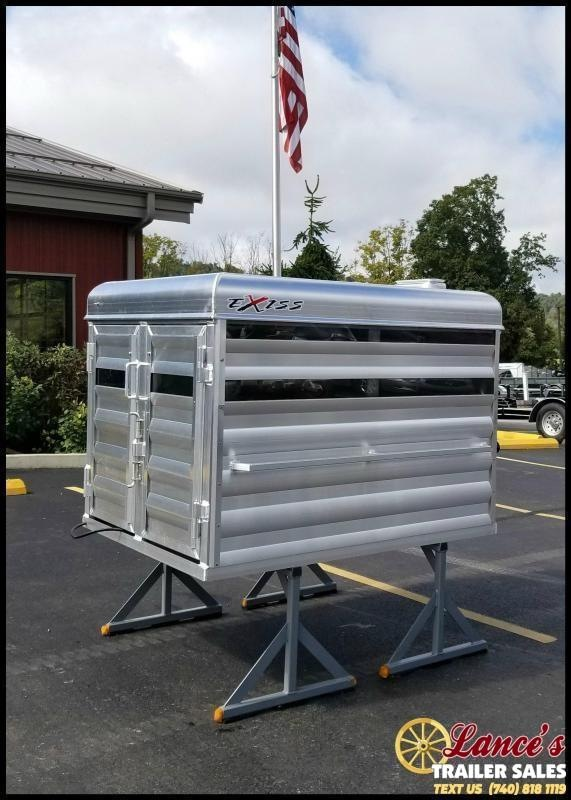2022 Exiss 5' Aluminum Stock Box