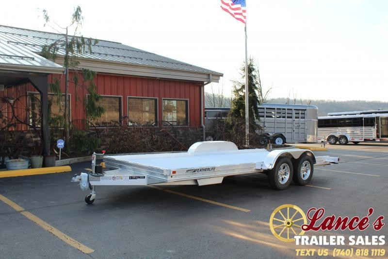 "2020 Featherlite 82""x17'6"" Open Car Hauler"