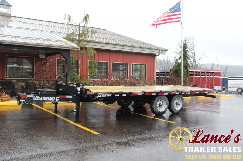 2020 Diamond C Trailers 22Ft. Tilt Equipment Trailer