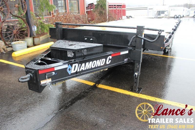 2020 Diamond C Trailers 22Ft. Tilt Equipment Trailer