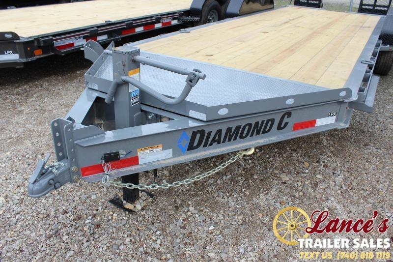 "2020 Diamond C Trailers 82""x20' Equipment Trailer"