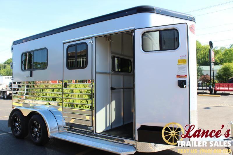 2021 Sundowner 2 Horse Straight Load Trailer