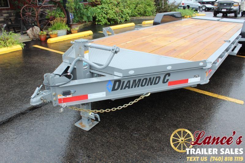 2020 Diamond C 22' Equipment Trailer