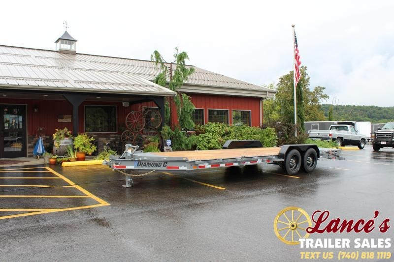 2020 Diamond C 22' Equipment Trailer