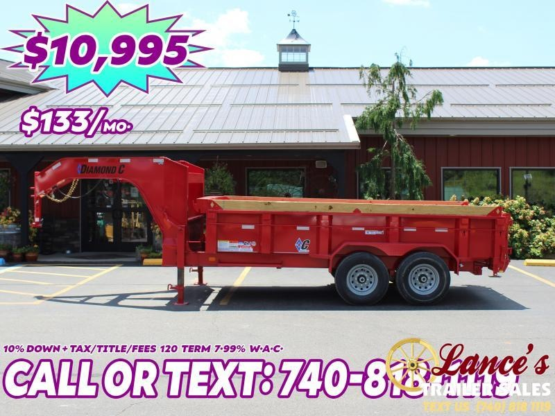 "2020 Diamond C 14'X82"" Dump Trailer"