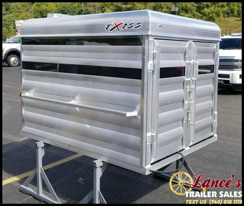 2020 Exiss Trailers STOCK BOX Livestock Trailer