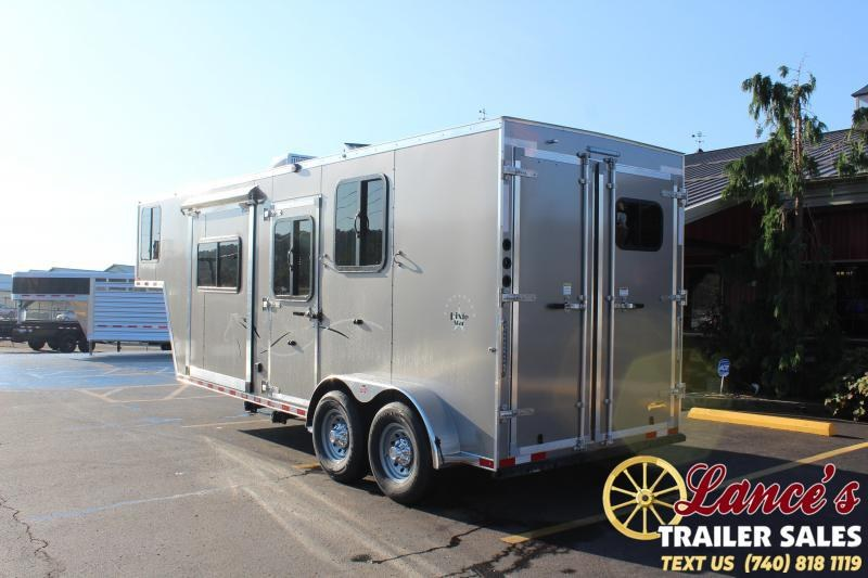 2021 Harmar 2 Horse Slant Load Slide-Out Horse Trailer
