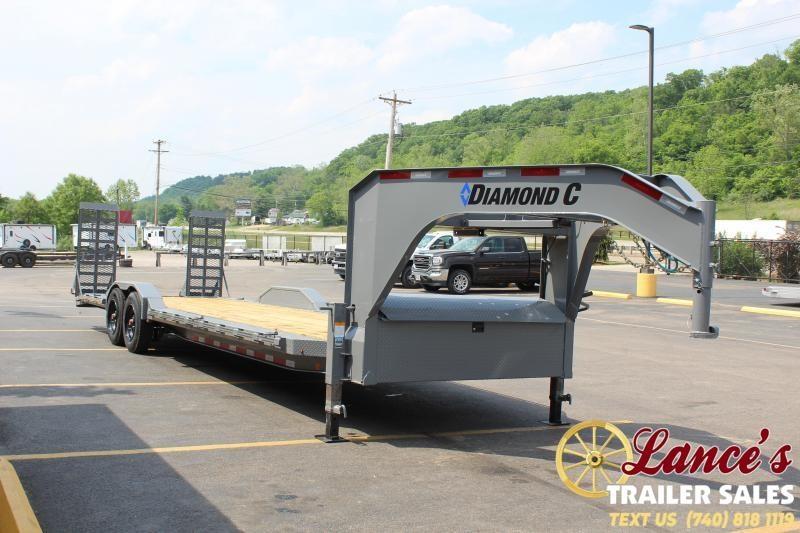 2021 Diamond C 28' Equipment Trailer