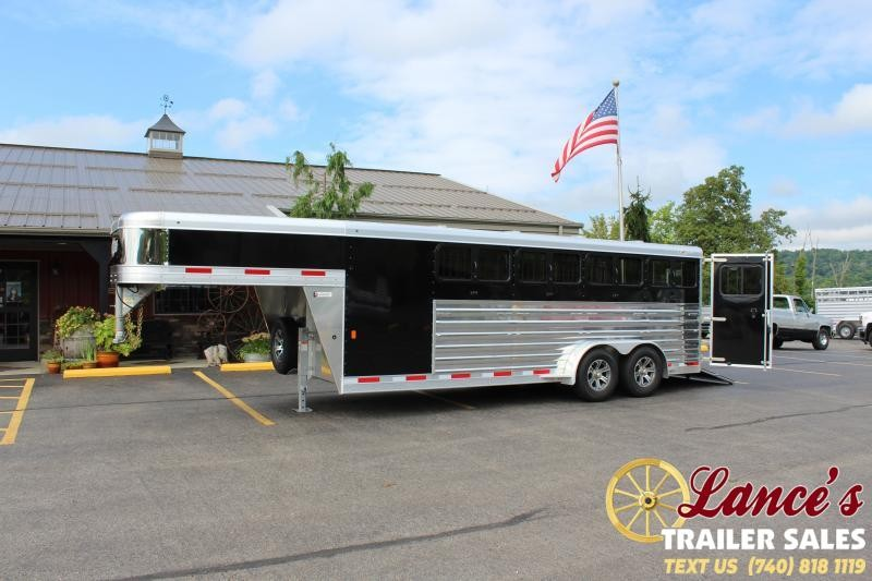 2021 Exiss 20' Low Pro Pen Livestock Trailer