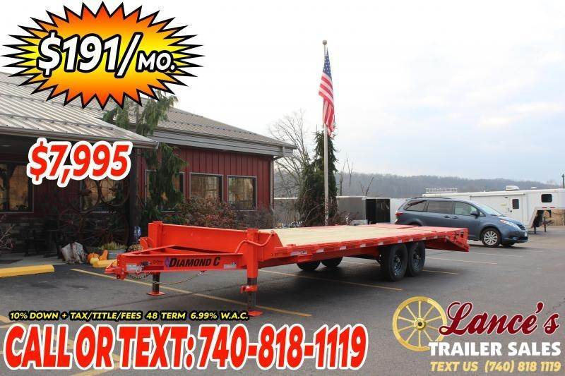 2021 Diamond C 24' Equipment Trailer