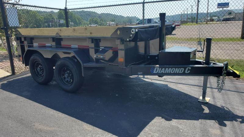 2022 Diamond C 10' Dump Trailer