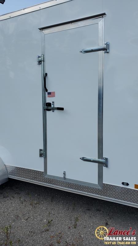 2021 Rhino 16' Enclosed Cargo Trailer