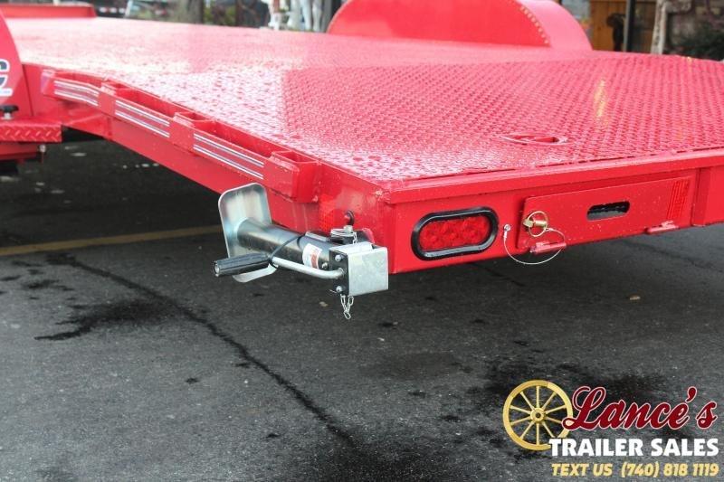 2021 Diamond C 22' Steel Deck Open Car Hauler