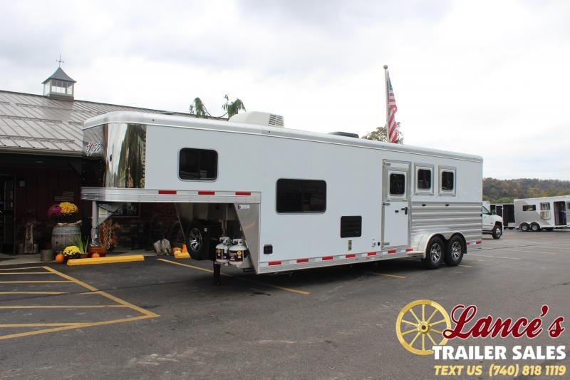 2021 Exiss Trailers 3 Horse Slant Load Horse Trailer