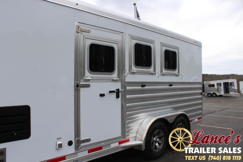 2021 Exiss Trailers 3 Horse Slant Load Horse Trailer