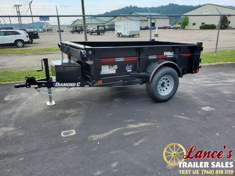 "2020 Diamond C 60""x8' Dump Trailer"