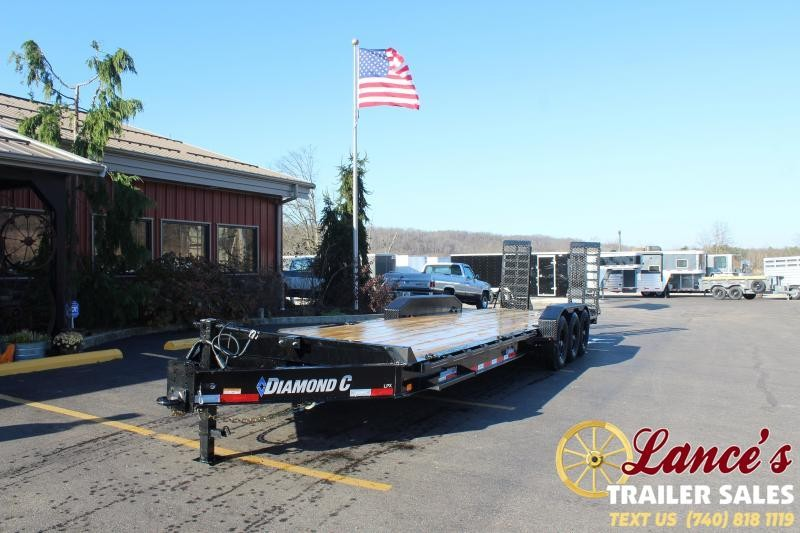 2021 Diamond C 30' PINTLE Equipment Trailer