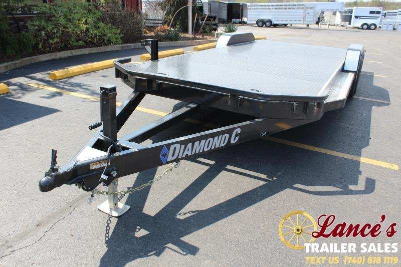 "2020 Diamond C 82""x22' Open Car Hauler"