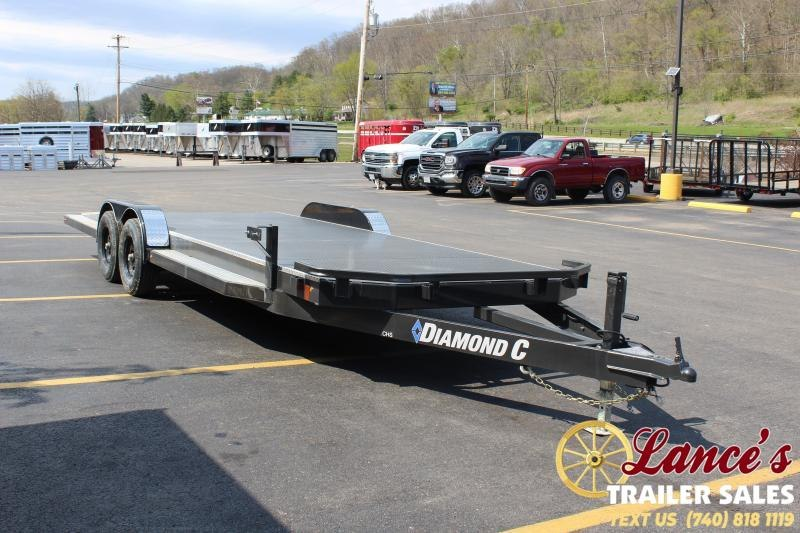 "2020 Diamond C 82""x22' Open Car Hauler"