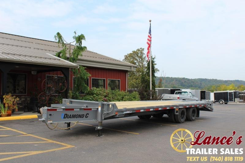2021 Diamond C 28' Pintle Equipment Trailer