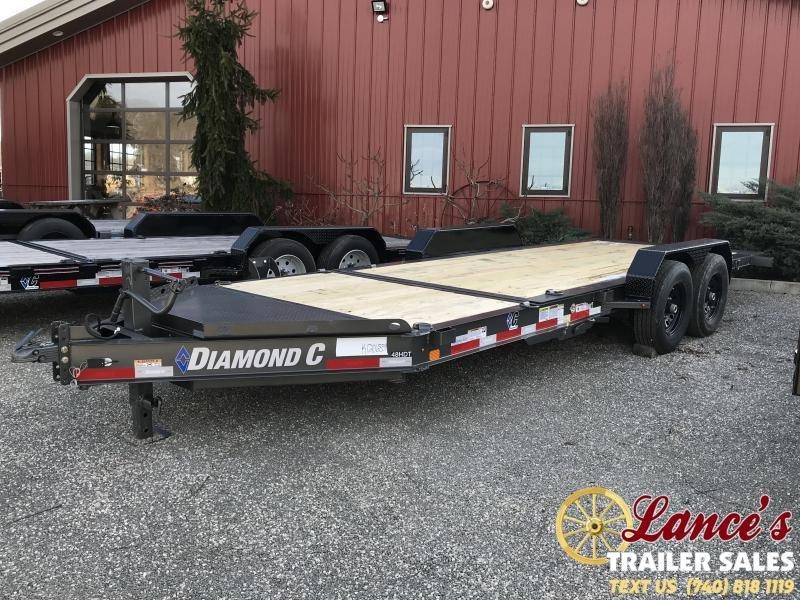 2021 Diamond C 20' Tilt Equipment Trailer