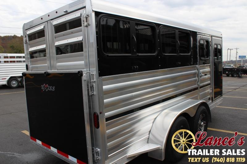 2020 Exiss Mini Combo Low Pro Livestock Pen Trailer