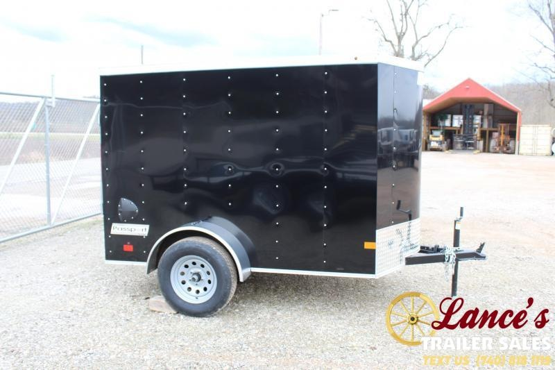 2021 Haulmark 5'x8' Enclosed Cargo Trailer