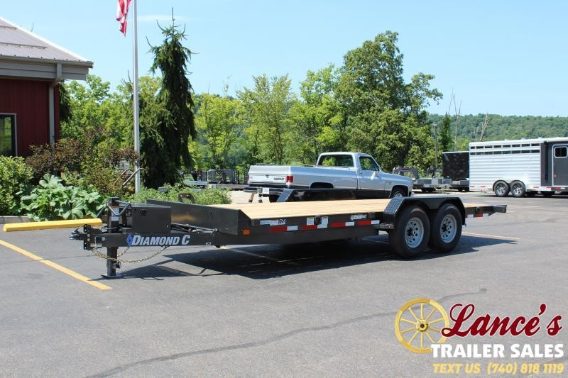 2020 Diamond C 20' Power Tilt Equipment Trailer
