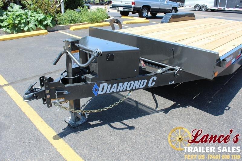 2020 Diamond C 20' Power Tilt Equipment Trailer