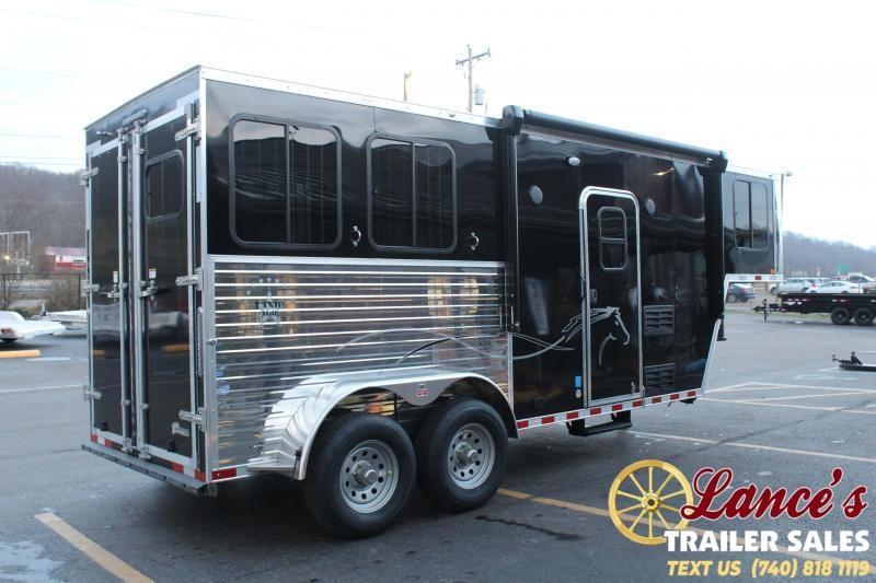 2022 Harmar 2 Horse Slant Load Horse Trailer