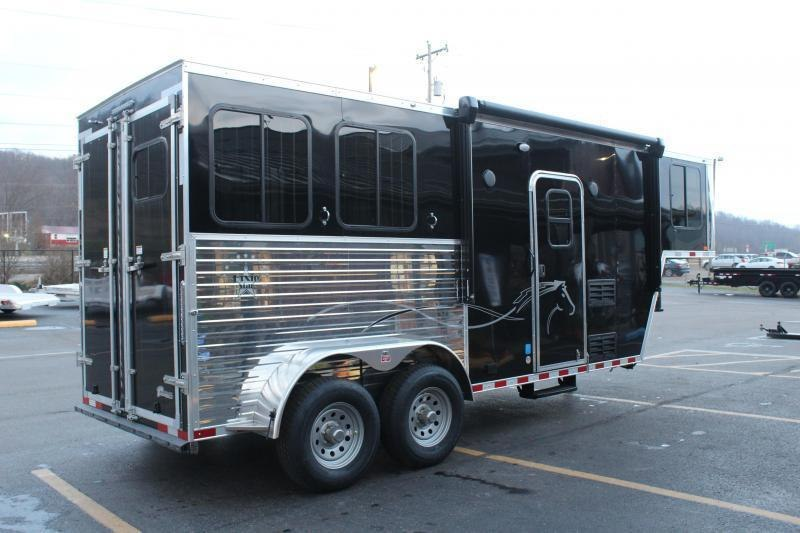 2022 Harmar 2 Horse Slant Load LQ Horse Trailer