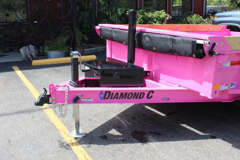 2021 Diamond C 10' Dump Trailer