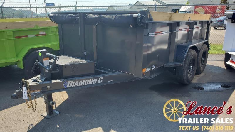 2021 Diamond C 12' High-Side Dump Trailer