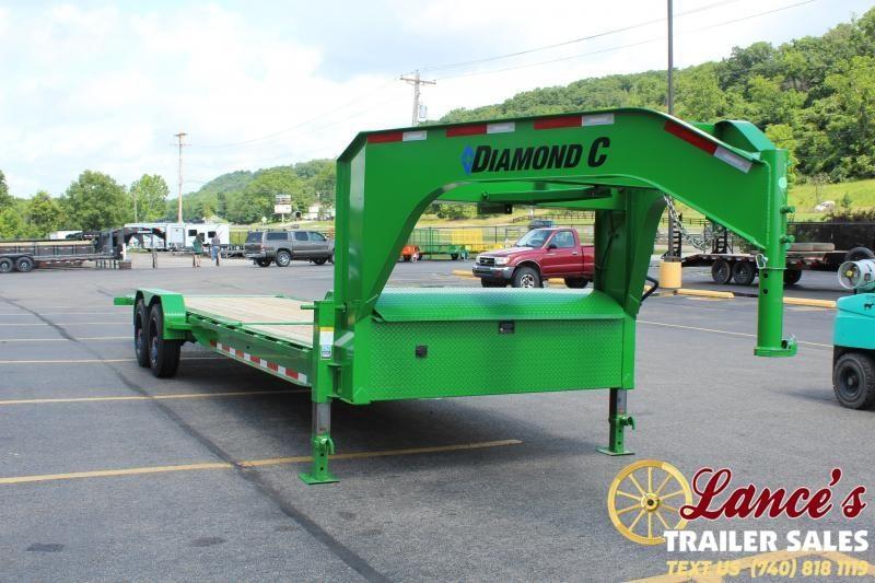 2021 Diamond C 26' Power Tilt Equipment Trailer