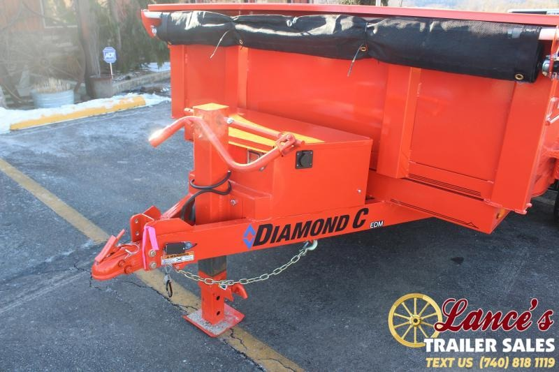 2021 Diamond C 12' Dump Trailer