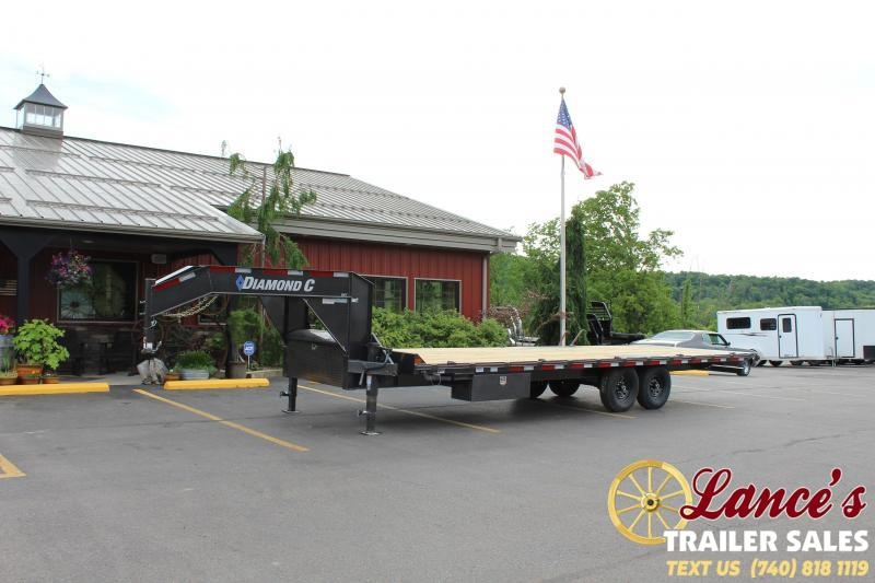 2020 Diamond C 26' Tilt Equipment Trailer