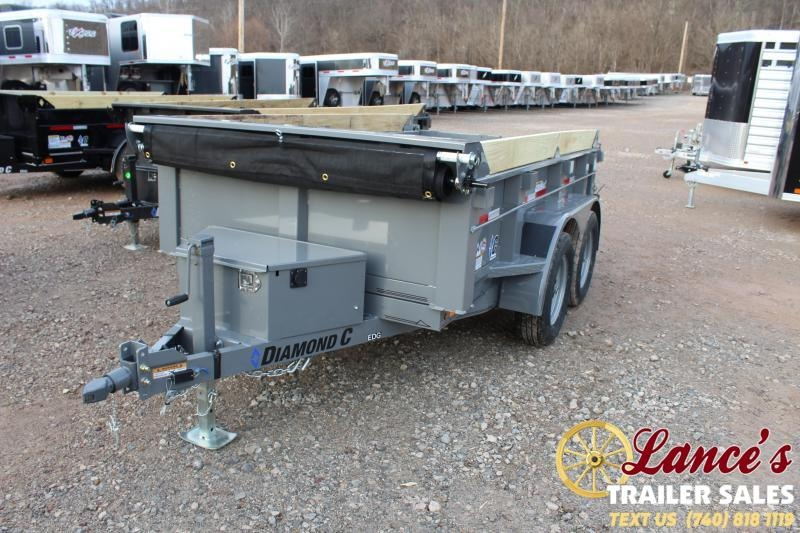 2021 Diamond C Trailers 10' Dump Trailer