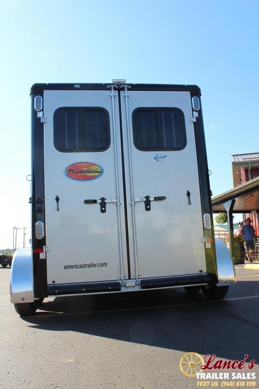 2021 Sundowner 2 Horse Slant Load Horse Trailer
