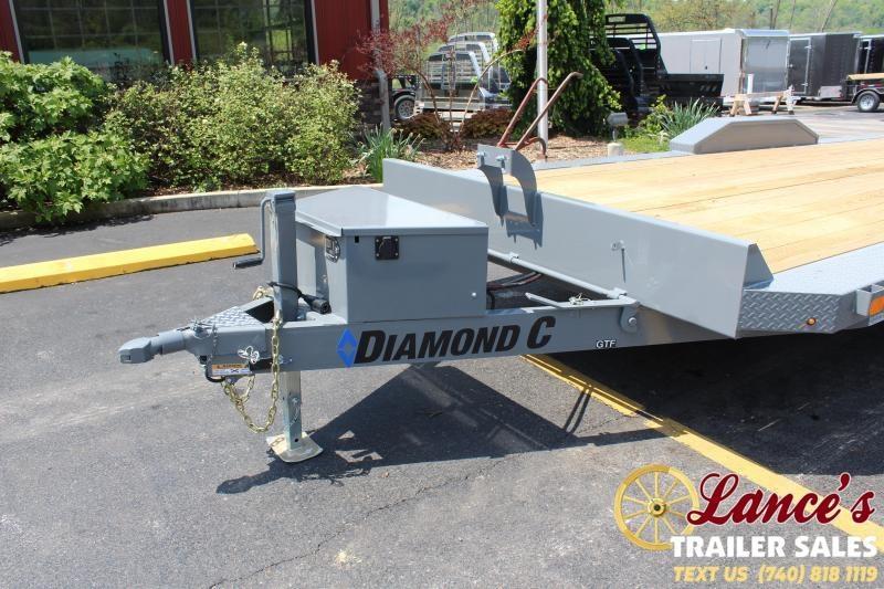 """2020 Diamond C 82""""x20' Tilt Open Car Hauler"""