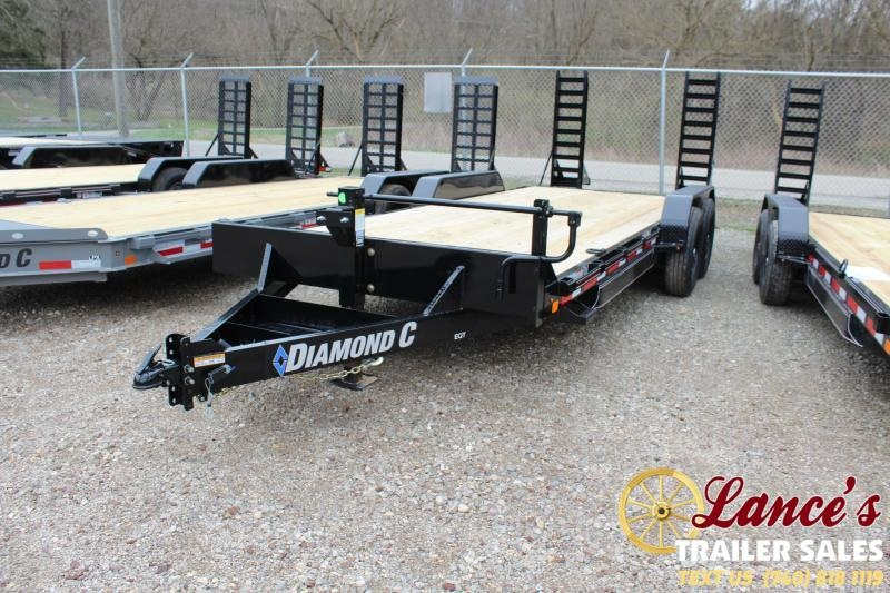 "2020 Diamond C Trailers 82""x20' Equipment Trailer"