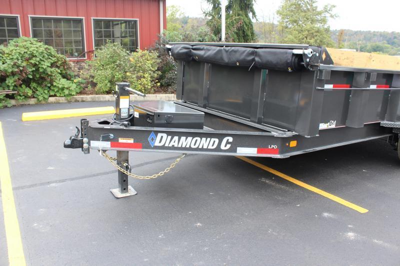 2022 Diamond C 14' Dump Trailer