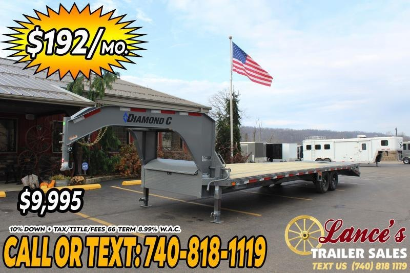 2021 Diamond C 30' (25'+5') Equipment Trailer