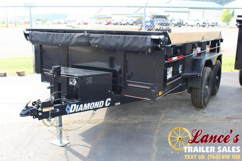 "2020 Diamond C 77""x12' Dump Trailer"