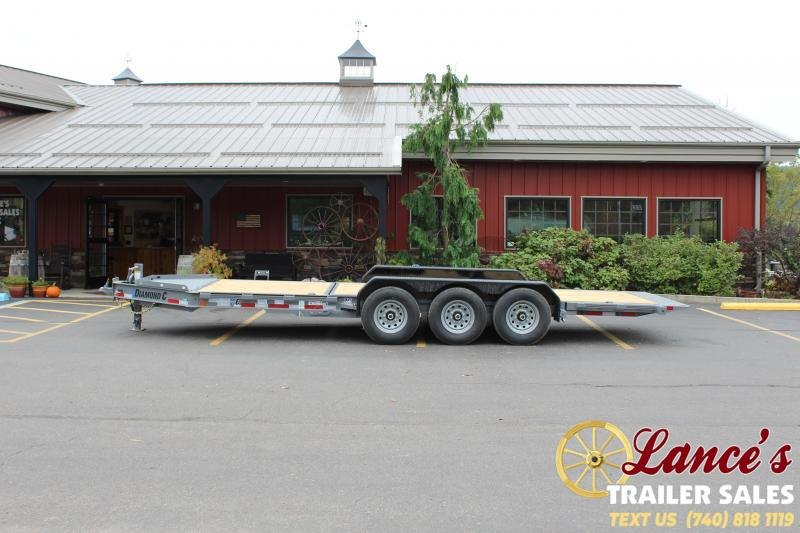 2021 Diamond C 22' Tilt Equipment Trailer