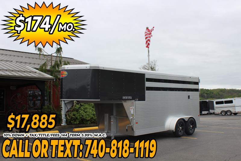 2020 Sundowner Trailers 3 Horse Slant Load Horse Trailer
