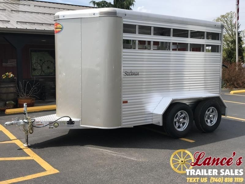 2021 Sundowner Stockman 12' Livestock Trailer